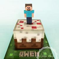 """Minecraft """"cake"""" cake"""