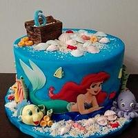 Little Mermaid and friends