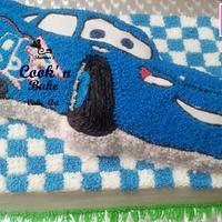 Dinoco MCqueen Cake