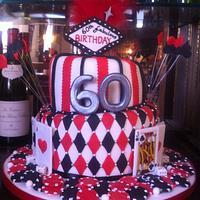 Mums Vegas cake