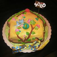 "'SOLD HOME"" CAKE"