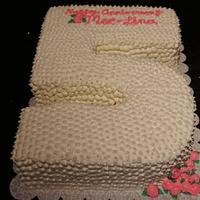 5th Anniversary Cake
