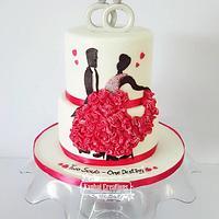 Wedding Ball cake