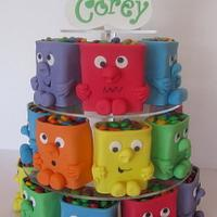 Monster Tower cakes