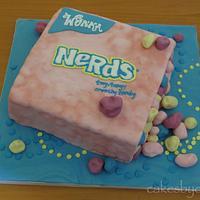 Nerds Candy Box Cake