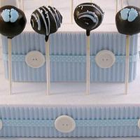 Cake Pop Centerpiece by Cheryl