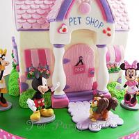 Minnie's Pet Shop by Tea Party Cakes