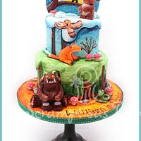 Gruffalo's Child Birthday Cake