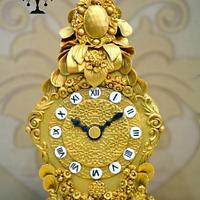A Royal Vintage Clock Cake