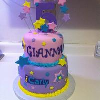 iCarly Birthday Cake