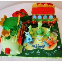 Dinosaur Train Cake by Bobie MT