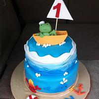 Froggie Went Sailing
