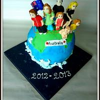 Globe  cake  by The cake shop at highland reserve