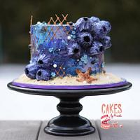 Buttercream Barnacle Cake