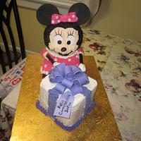 Minnie Mouse with Present