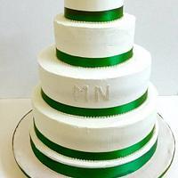 wedding cake buttery cream