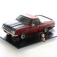 HR Holden ute car cane