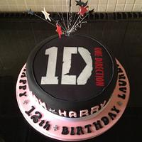 1d cake for Lauren