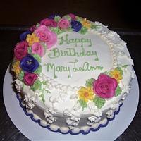Mary LeAnn's Birthday Cake