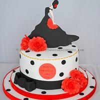 Flamenco Dancer Cake