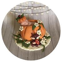 Pumpkin fall baby shower