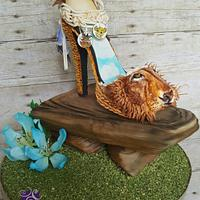 Lion King themed shoe