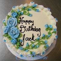 Old School Birthday Cake