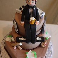 Sport Enthusiast Groom's Cake