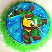 TMNT Jello Cake  by Joly Diaz
