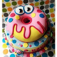 Moshi monster cake!!!