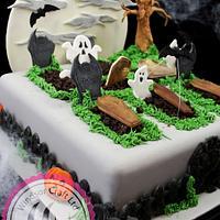 Halloween Graveyard Cake by Windsor