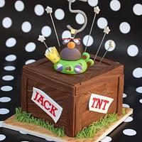 Angry Birds Mini Cake