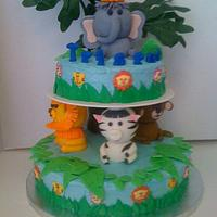Safari cake (Wilton inspired)