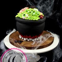 Spooooky Halloween Cauldron Cake by Windsor