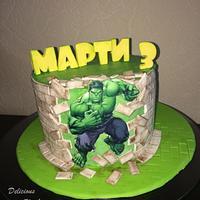 Superhero Hulk