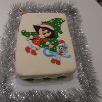 Christmas - Dora the explorer
