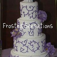 Wedding Cake by Virginia