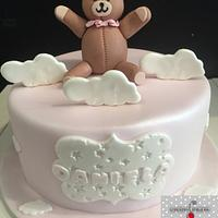 Osita chiste niña cake Daniela