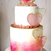 """Geode Hearth Cake"""