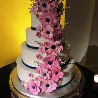 Daughter's wedding cake by Fun Fiesta Cakes