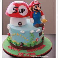 Super Mario Bros Cake by Linda Kurniawan