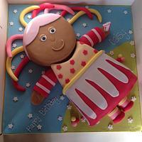 In The Night Garden Upsy Daisy by Kelly Castledine - Kelly's Cakes & Tasty Bakes