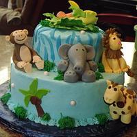 Safari Baby Shower by Diane