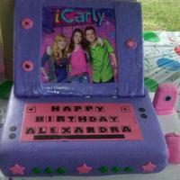 ICarly Birthday Cake by NumNumSweets