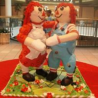 Raggedy Ann and Andy by lizy