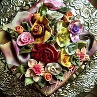 Victorian Ribbon Roses