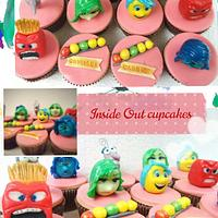 Inside out 3D edible cupcake