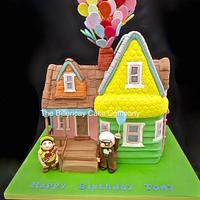 Up inspired cake
