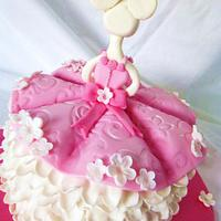 Angelina-ballerina cake by Gulnaz Mitchell