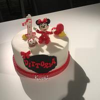 Minnie Baby cake
